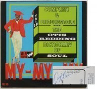"Otis Redding – Signed 1966 ""Dictionary of Soul"" LP, With 2 COA's, Lifetime Guarantee"