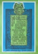 Mothers of Invention, Charlie Musselwhite – 1968 Shrine L.A. Concert Poster (Frank Zappa)