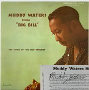"Muddy Waters – Signed ""Sings Big Bill"" Chess LP, With Roger Epperson COA"