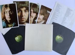 The Beatles – John Lennon's Personal Copy of the White Album, With Tracks COA (UK Top Loader)