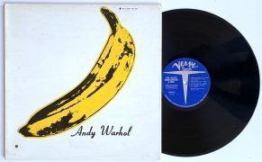 Velvet Underground & Nico – 1968 LP With Fully Intact Andy Warhol Banana Sticker
