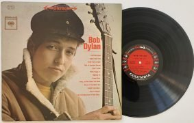 "Bob Dylan – 1962 Stereo ""Six-Eye"" First Pressing of Debut Album"