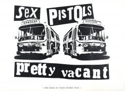 Sex Pistols – Huge 1977 UK 'Pretty Vacant' Promotional Poster