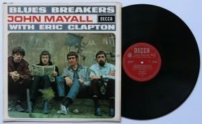 John Mayall & Eric Clapton – UK Mono Unboxed Decca Blues Breakers LP