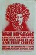 Jimi Hendrix – 1968 Shrine Auditorium LA Concert Handbill
