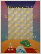 Traffic / Quicksilver Messenger Service – 1968 Pinnacle/Shrine L.A. Concert Poster