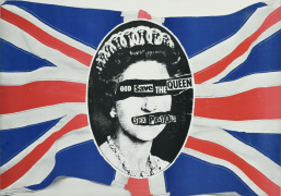 Sex Pistols – 1977 UK 'God Save The Queen' Promotional Poster