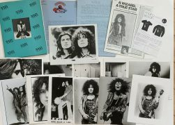 Marc Bolan / T.Rex – Press Kit Lot with 14 Photos, 2 bio's, Cover, Merch, Flyer, Etc.