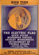 Quicksilver Messenger Service / Electric Flag / Charlie Musselwhite – 1968 Los Angeles High Torr Concert Poster