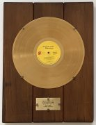 "Rolling Stones – Mick Taylor's Australian ""Sticky Fingers"" Gold Record Award / From Bill Wyman's Legendary Archive"