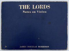 Jim Morrison – 1969 Self-Published Poetry Folio 'The Lords: Notes on Vision', From Collection of Doors Manager Danny Sugerman (One of 100 made)