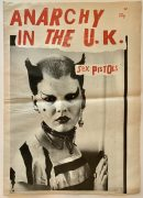 Sex Pistols – 1976 'Anarchy in the UK' Tour Newspaper/Program (aka Anarchy No.1), Designed by Jamie Reid