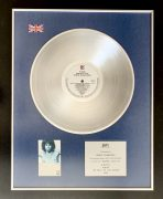 The Doors – UK BPI Silver Disc Award for 'The Best of The Doors' Presented to Manager Danny Sugerman (UK Version of RIAA Award)