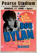 Bob Dylan – 2004 Signed Concert Poster, With HUGE Uninscribed Signature (The Largest We've Seen)