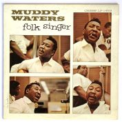 Muddy Waters – Bill Wyman (Rolling Stones)-Owned 'Folk Singer' LP (Artist Owned)