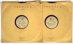 """Bob Dylan – 2 Dylan-Owned Alternate """"New Morning"""" LP Acetates,  With Dylan's Handwritten Notation on Label (Artist Owned)"""