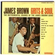 James Brown – Bill Wyman (Rolling Stones)-Owned 'Grits & Soul' LP (Artist Owned)