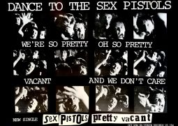 "Sex Pistols – 1977 UK ""Pretty Vacant"" Virgin Records Promotional Poster"