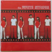 The White Stripes – Factory Sealed Split Red/White Vinyl Debut LP on Third Man Records