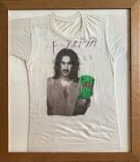 Frank Zappa – 1984 Tour T-Shirt with Huge Autograph, w/Epperson COA, Lifetime Guarantee