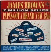 James Brown – Bill Wyman (Rolling Stones) Owned 'Papa's Got A Brand New Bag' 1st Press LP (Artist Owned)