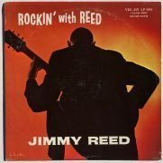 Jimmy Reed – 1959 1st Pressing 'Rockin' With Reed' LP, With Maroon Deep Groove Labels