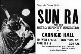 Sun Ra & His Astro-Infinity Arkestra – 1968 Carnegie Hall Concert Poster