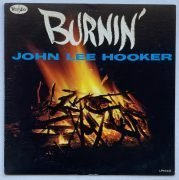 "John Lee Hooker – 1962 1st Press ""Burnin'"" LP / Vee Jay Oval Logo Deep Groove/ Near Mint"
