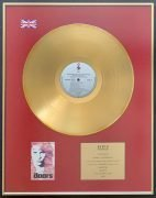 THE DOORS – UK BPI Gold Disc Award 'The Doors' Soundtrack to Oliver Stone Film, presented to Manager Danny Sugerman