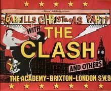 The Clash – 1984 Benefit Concert Poster / Scargill's Christmas Party