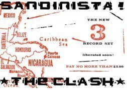 The Clash – 1980 UK 'Sandinista!' Record Store Pre-Release Flyer