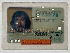 Velvet Underground – Sterling Morrison's Personal University of Texas Student ID