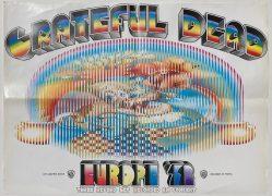 Grateful Dead – Europe '72 Poster