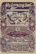 Alice Cooper (The Spiders) – 1968 Lake Berryessa Bowl Concert Handbill