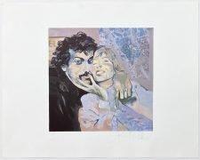 Joni Mitchell – Signed 1982 Self-Portrait Lithograph, #9/50 / 'Wild Things Run Fast' Artwork