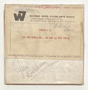 Bob Dylan – 'If You Gotta Go, Go Now' Demo Tape Sent to Byrds Manager