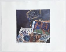 Joni Mitchell – Signed 1982 Lithograph, #9/50 / From 'Wild Things Run Fast' Artwork