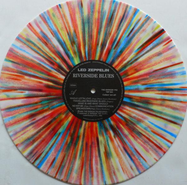 Led Zeppelin – Splatter Vinyl Riverside Blues Album