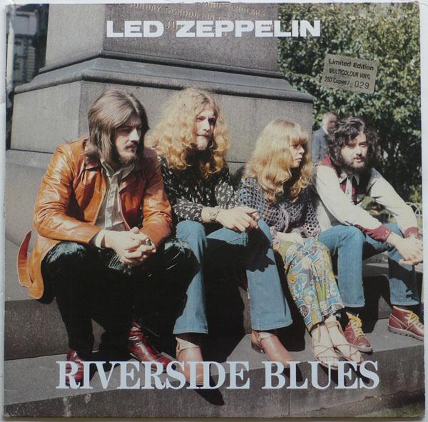 Led Zeppelin Splatter Vinyl Riverside Blues Album