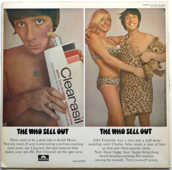 The Who – Australian Sell Out Album With Alternate Artwork
