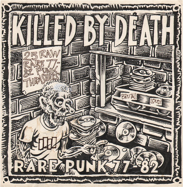 Killed By Death – Various Punk Artists – Killed By Death #1