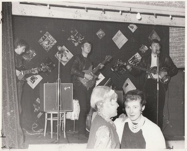 The Beatles – Original 1961 Aldershot Photograph