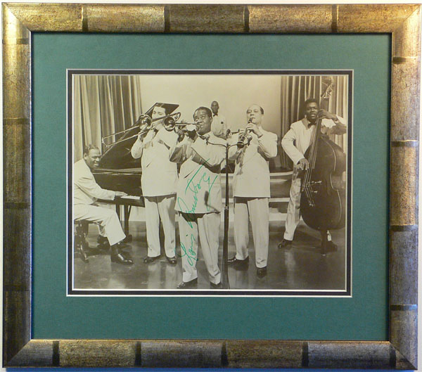 Louis Armstrong – Signed Promotional Photograph
