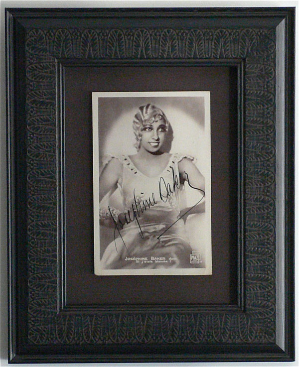 Josephine Baker – Signed 1930's Photograph