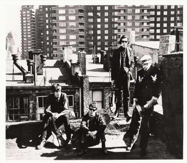 Velvet Underground – 5 original photos used in the VU book Uptight