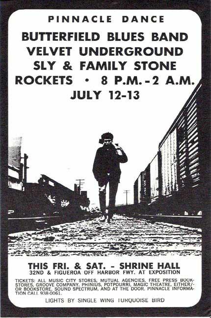 Velvet Underground – Last Minute Concert Handbill