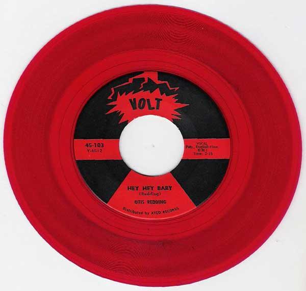 Otis Redding Red Vinyl These Arms Of Mine 45