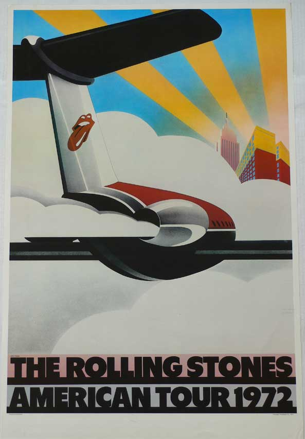 Rolling Stones – 1972 Tour Poster