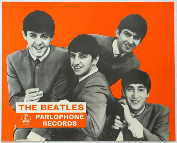 The Beatles – 1963 UK Promo Poster