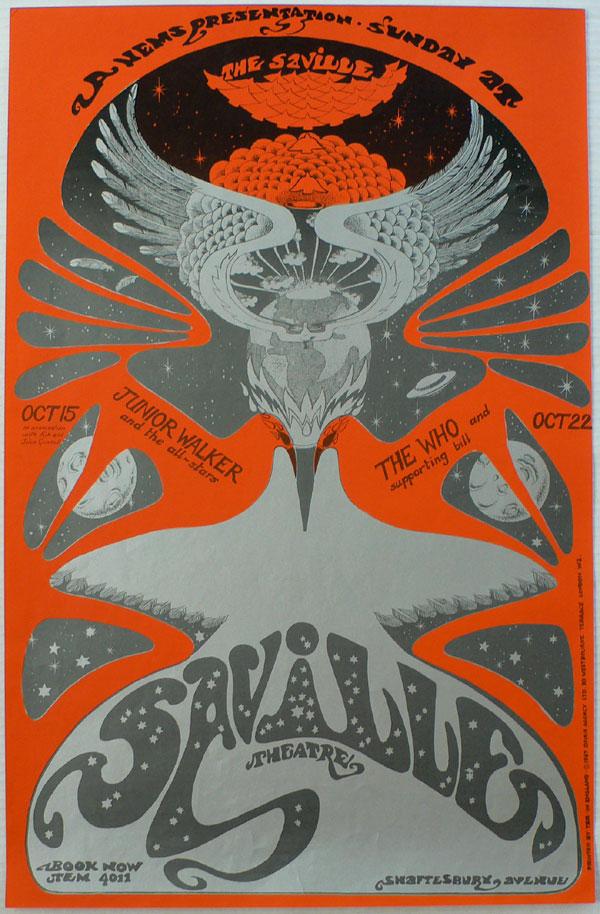 The Who – Original 1967 Concert Poster